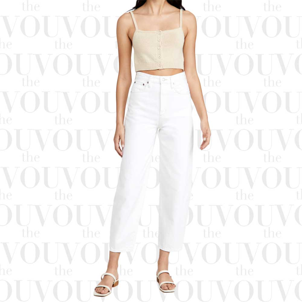 Agolde balloon tapered jeans for women