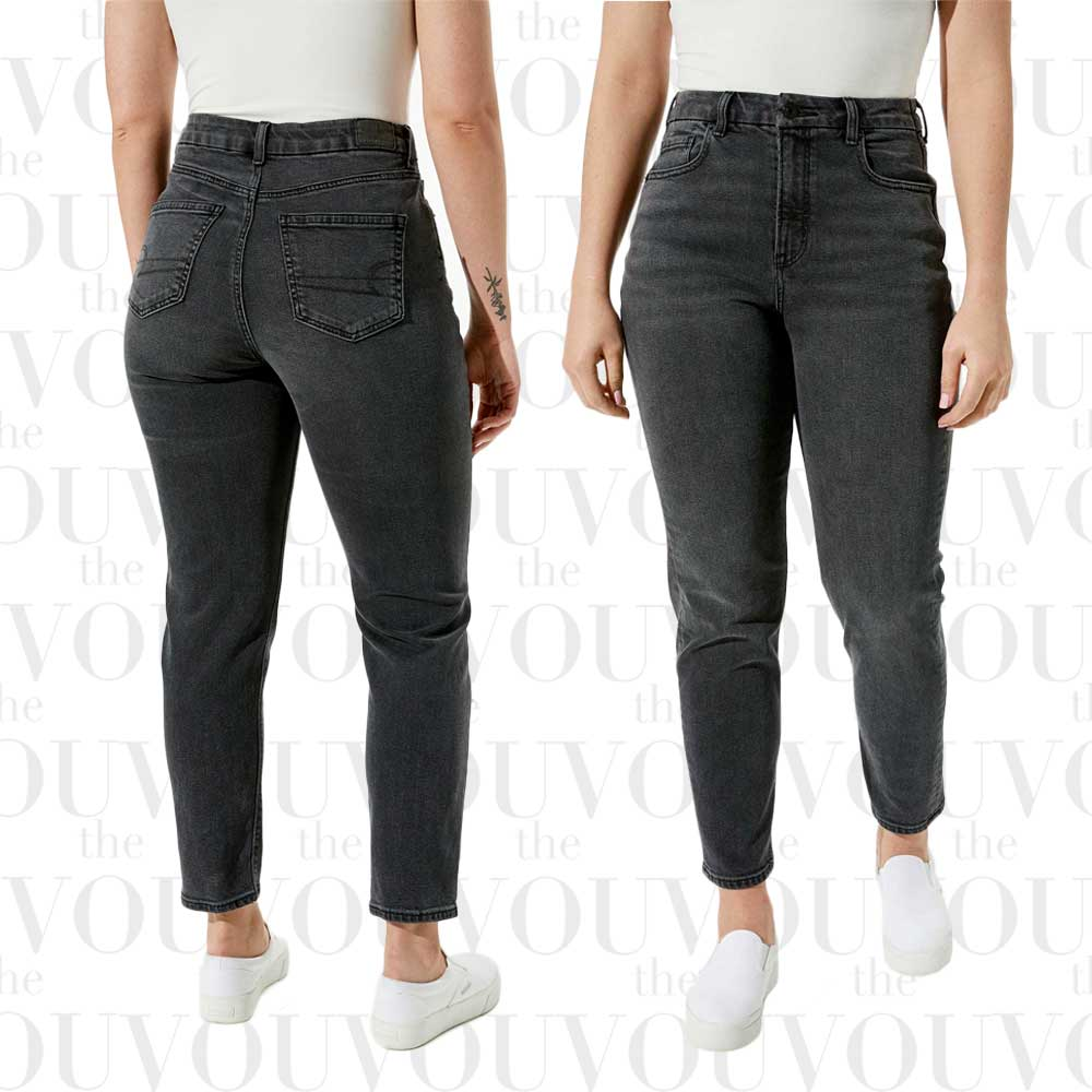 American Eagle Curvy Mom Jeans for women