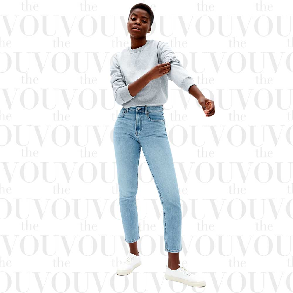 Everlane Cheeky Straight Jeans for women