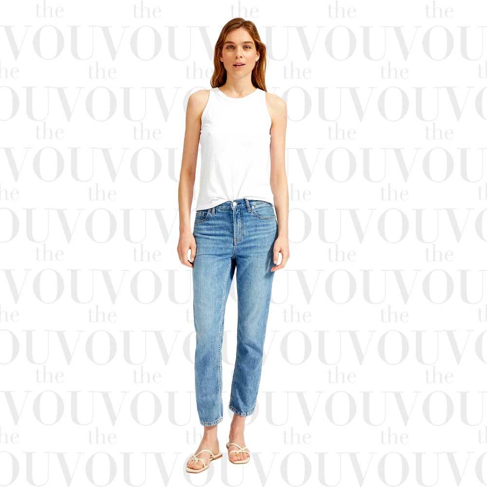 EverlaneLight Blue Super-Soft Relaxed Jeans for women