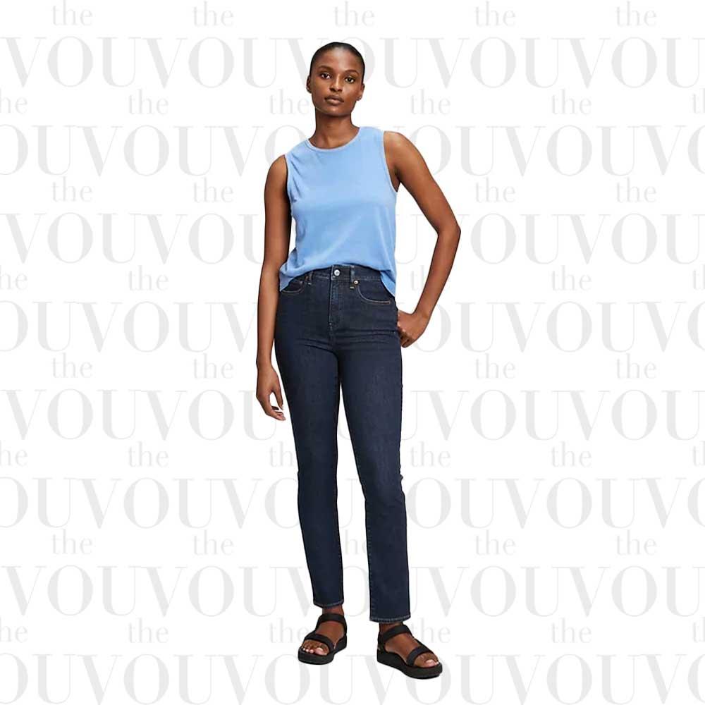 Gap high rise straight-leg jeans for women