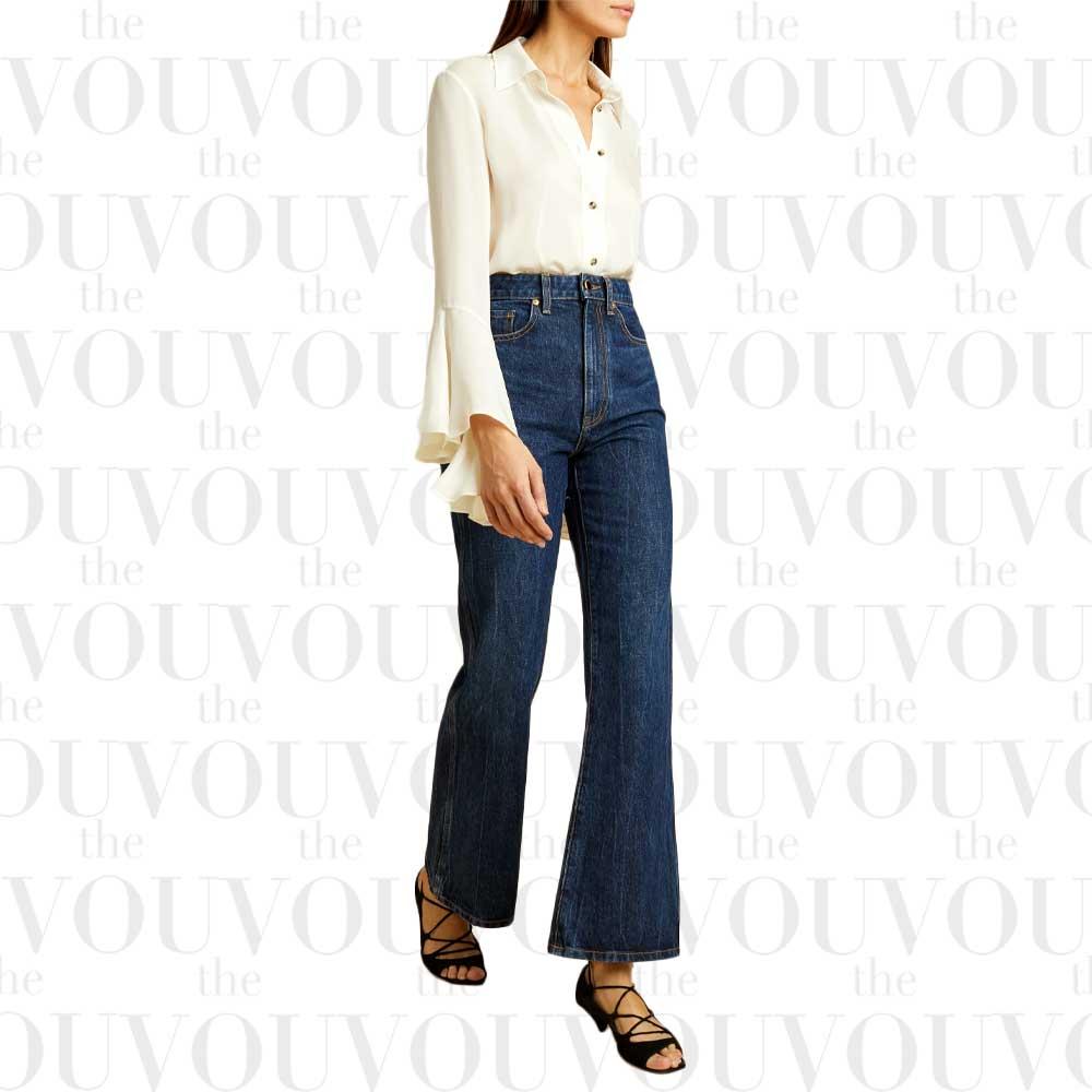 Khaite the Gabbie jeans for women