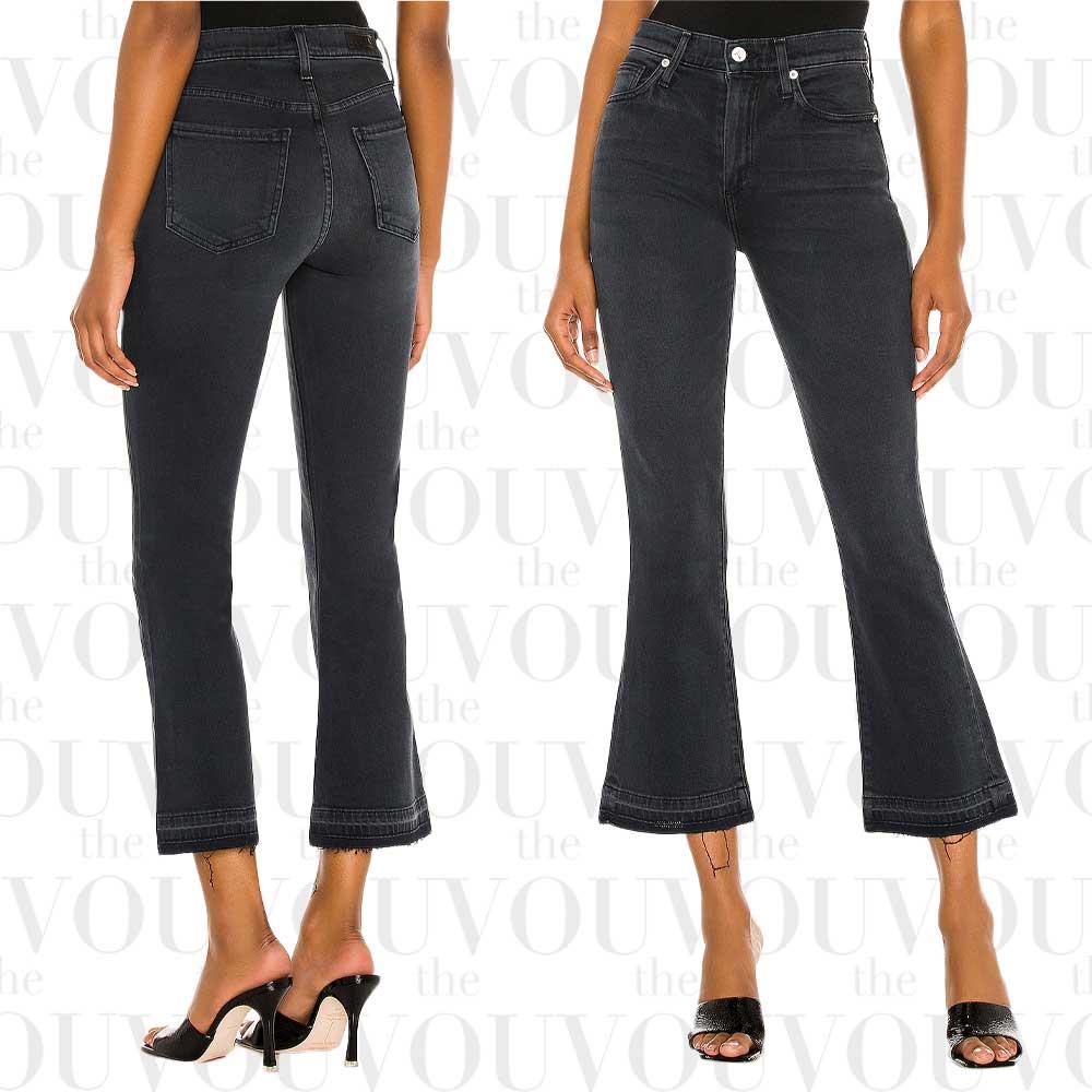 Le Jean Bella High-Waist Crop Flare Jeans for women