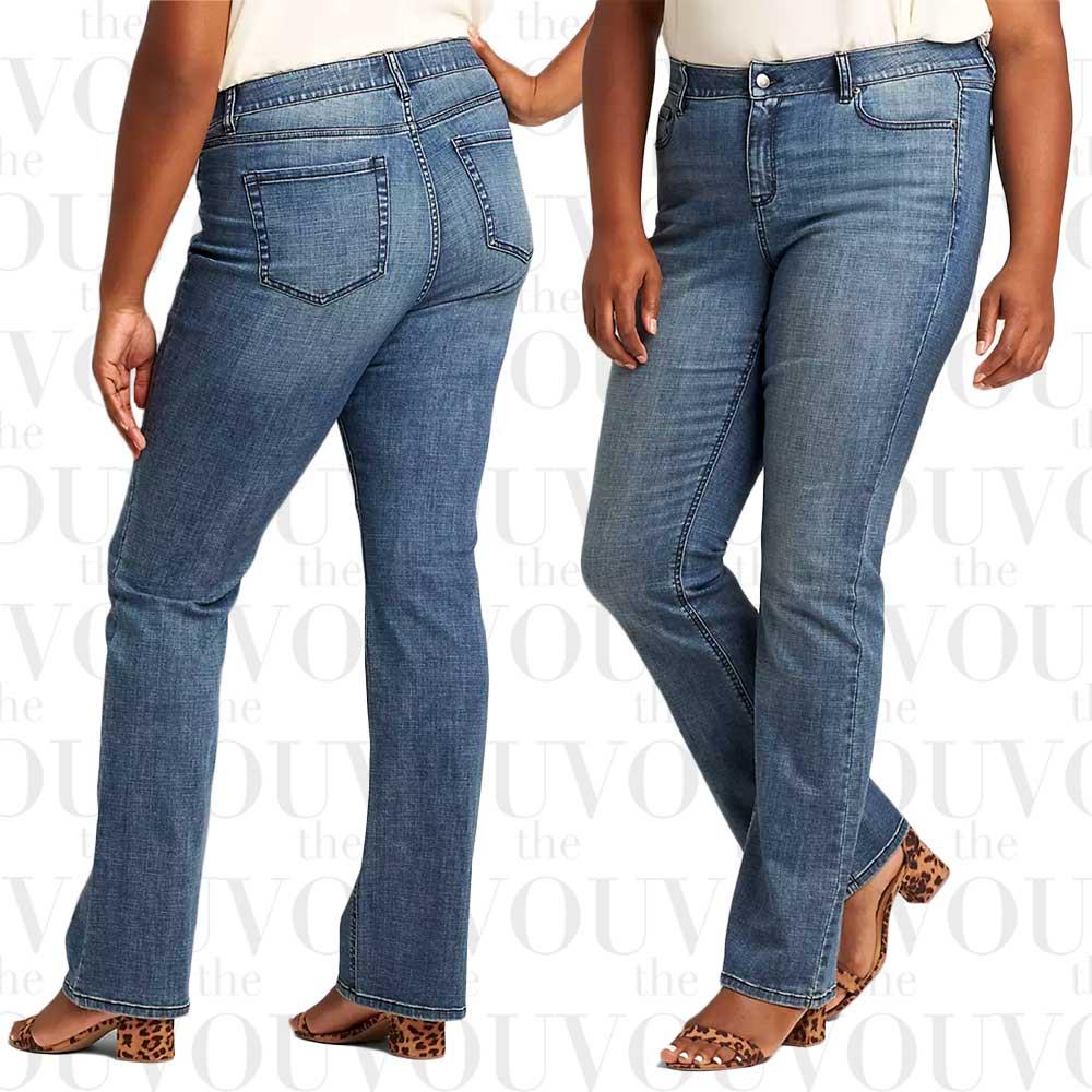Lane Bryant Essentials Venezia Boot Jeans
