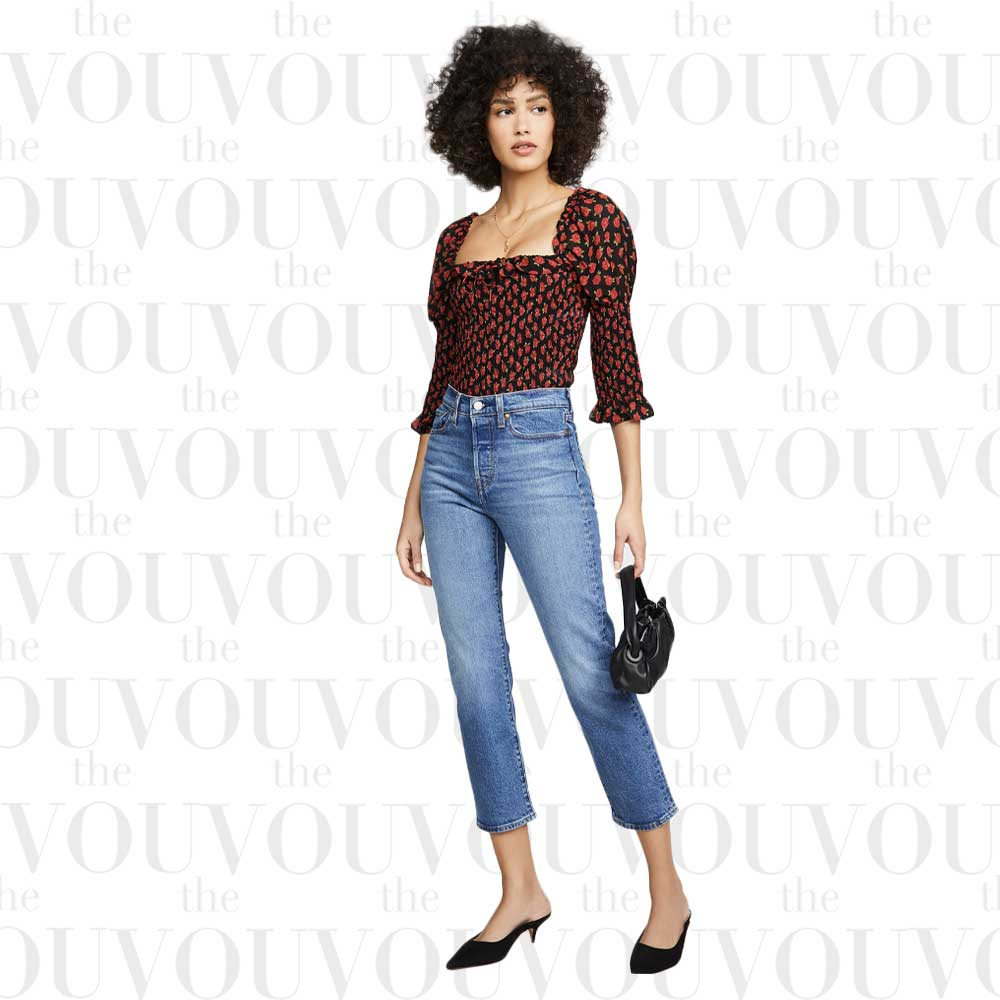 Levis Wedgie Straight Jeans for women