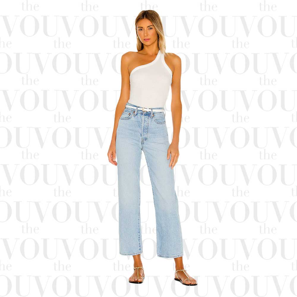 Levi's ribcage straight ankle jeans for women