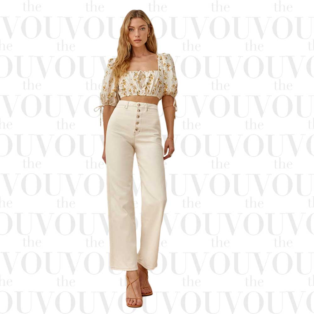 Reformation Lexi High Rise Wide Leg Jeans for women