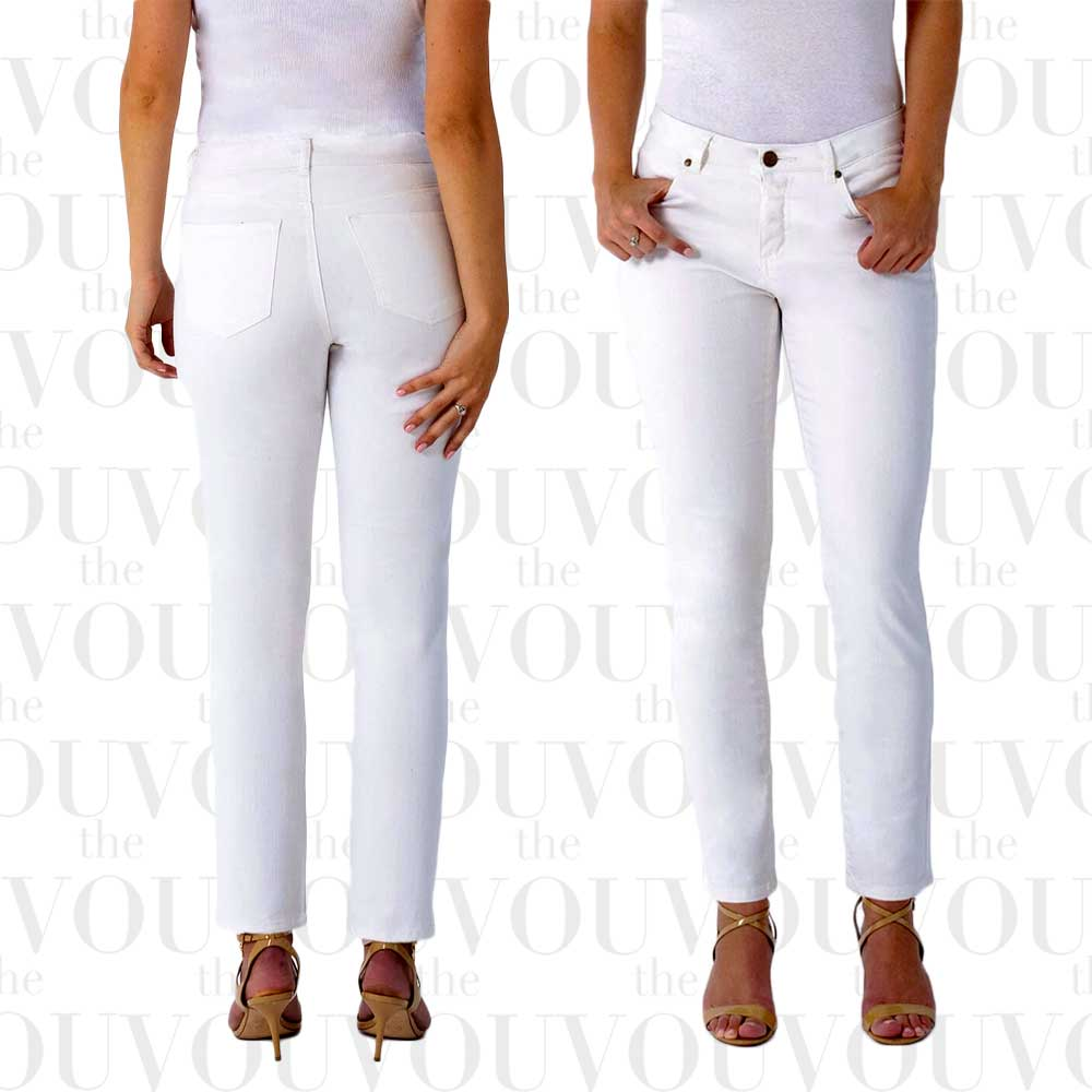 Measure & Made Skinny Ankle Jeans for women