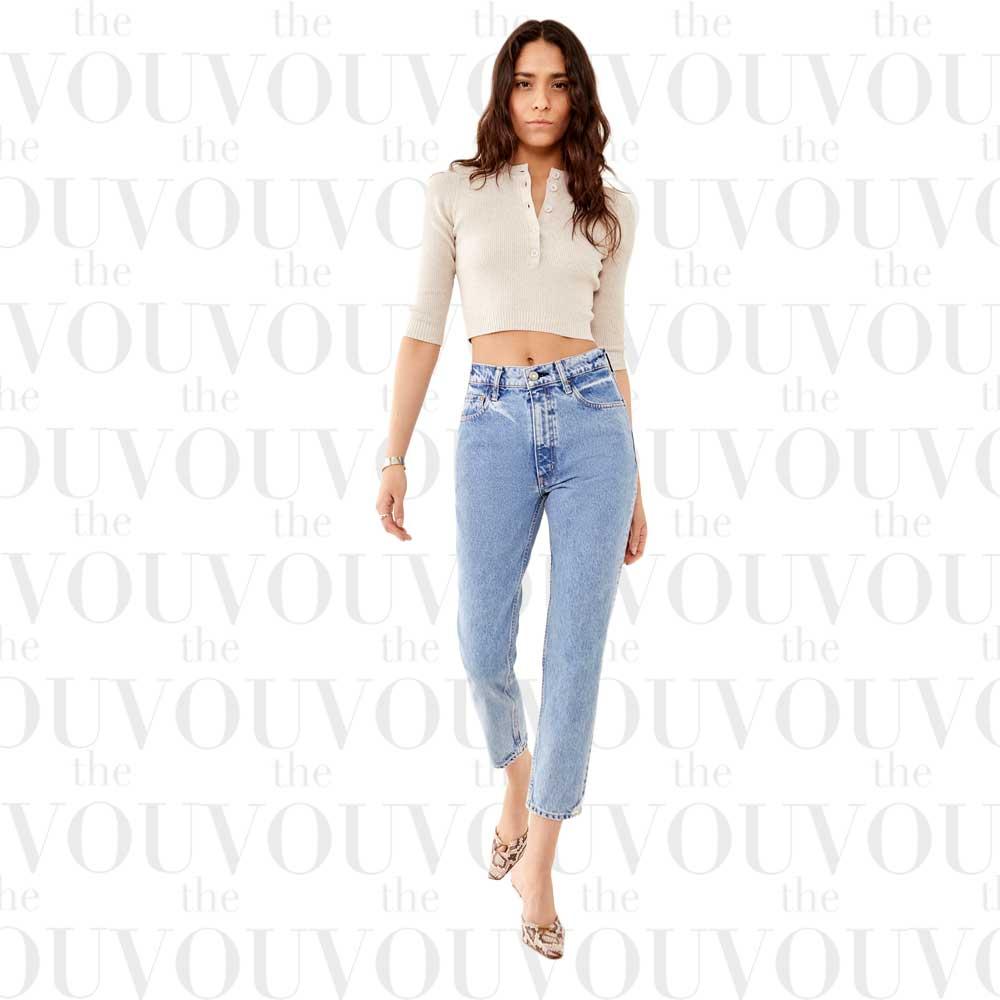 Moussy Vintage Marksville boy skinny jeans for women