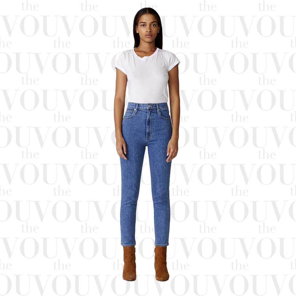 Slvrlake high-waist ankle slim jeans