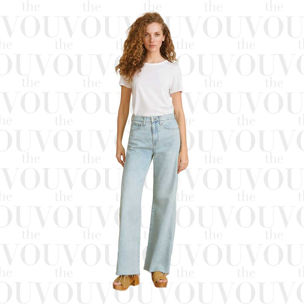 Veronica Beard Taylor wide-leg jeans