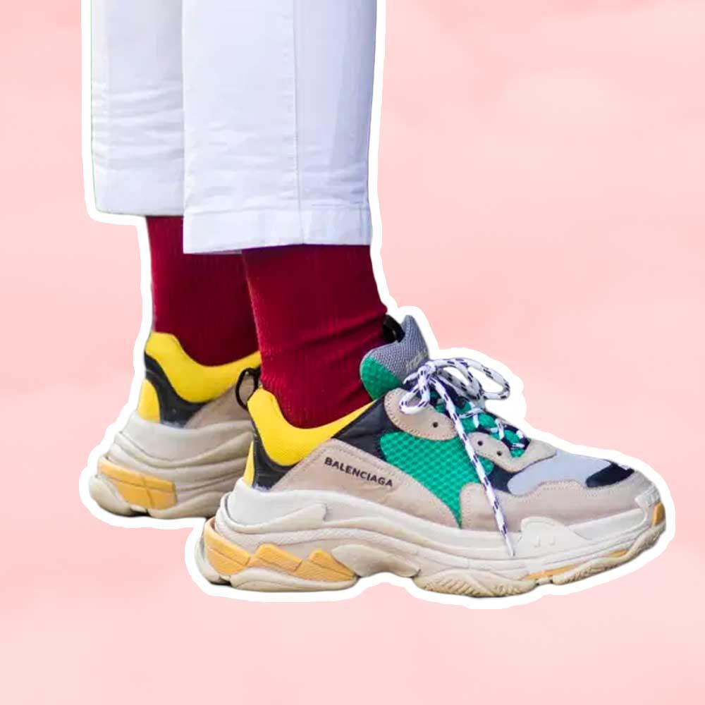 Sneaker trends - Chunky Sneakers