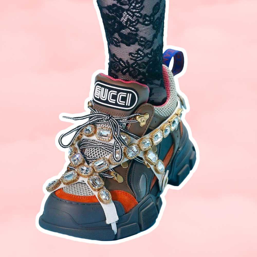 Gucci Designer sneakers - sneaker trends women