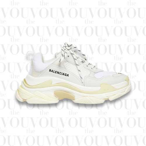 Balenciaga Tripple S White Sneakers