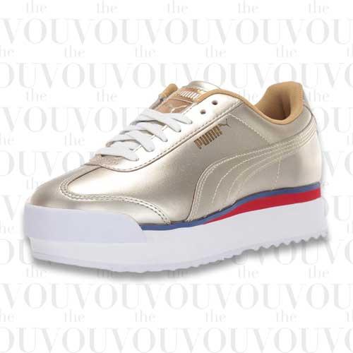 PUMA Women's Roma Platform Sneakers