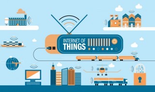 a map of all the devices connected to the internet of things - iot