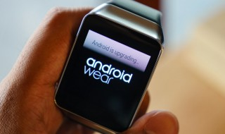 samsung watch running android wear being updated to the latest software version wt vox