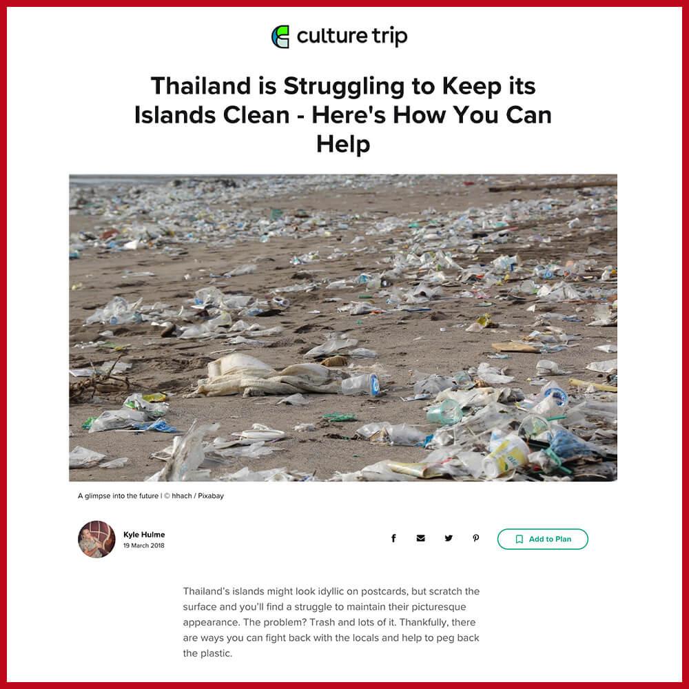 Phi phi island plastic pollution