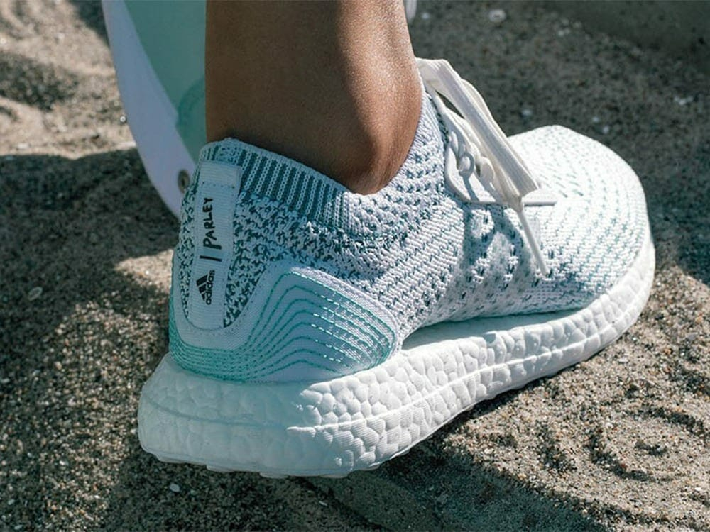 Adidas Parley upcyled sneakers