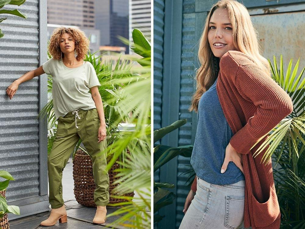 Pact vegan clothing
