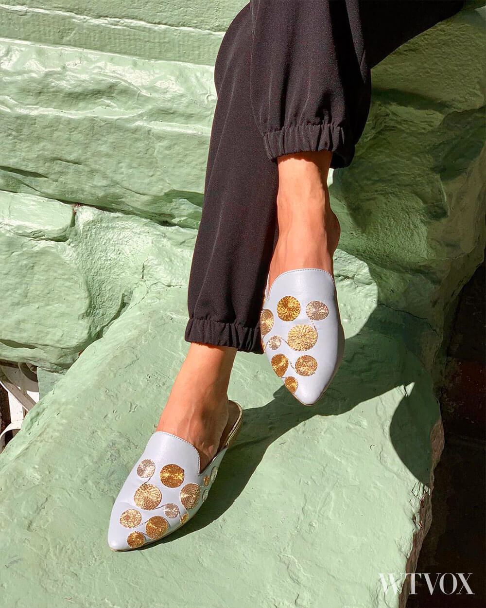 Rungg Shoes Vegan Leather Slippers