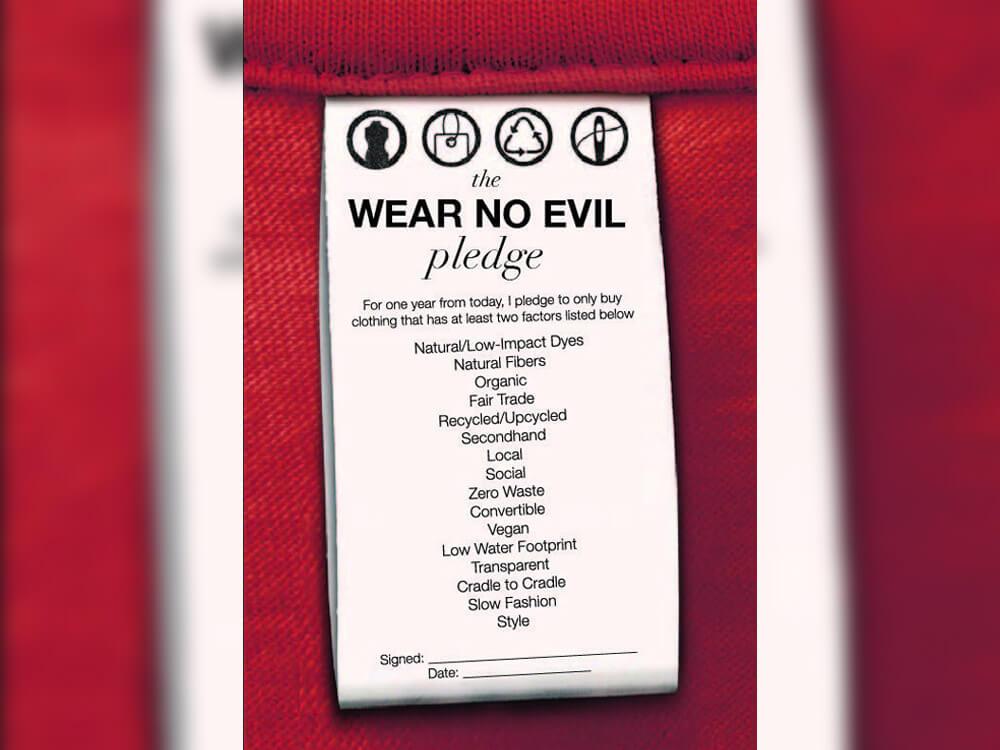 'Wear No Evil' by Greta Eagan