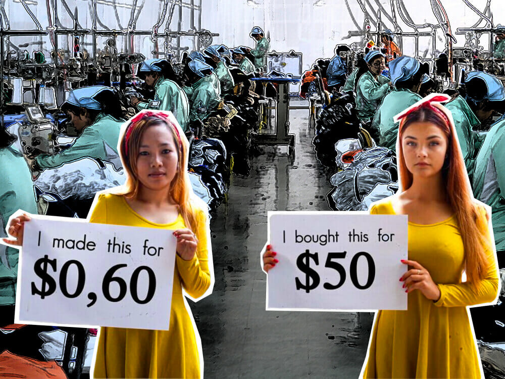 True cost of fast fashion - children and women labouring in fast fashion factories