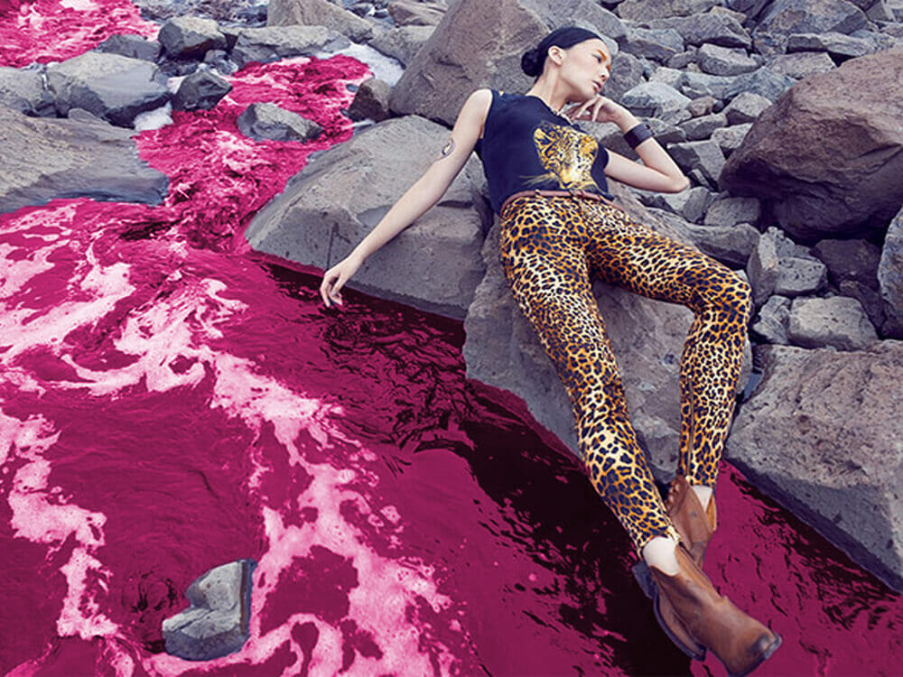 Fashion polluting and wasting water