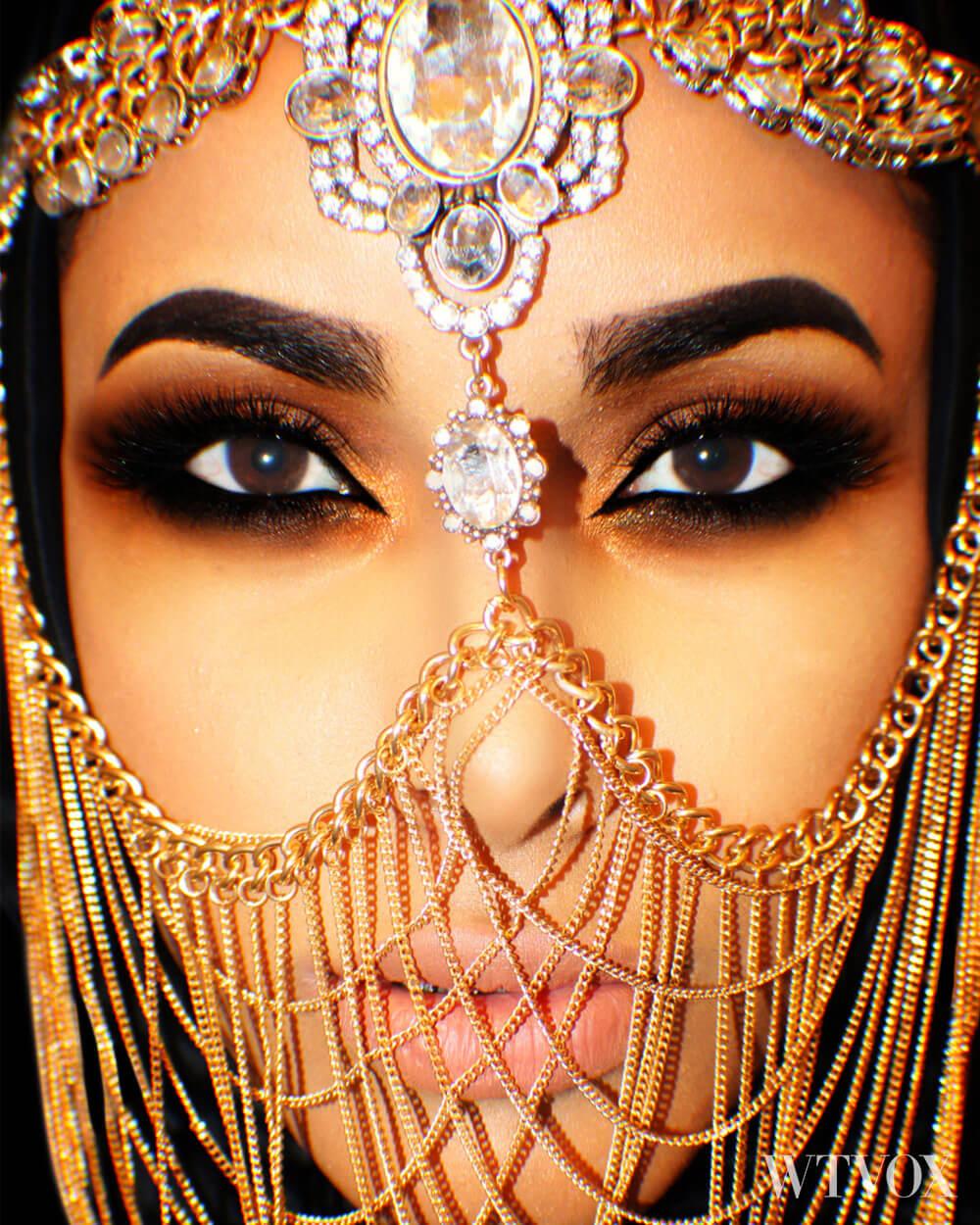 Arabic veil fashion