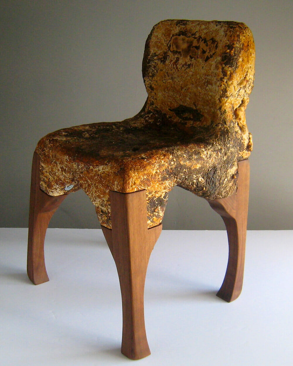 Furniture made from mushrooms
