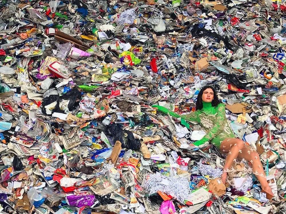 fast fashion waste