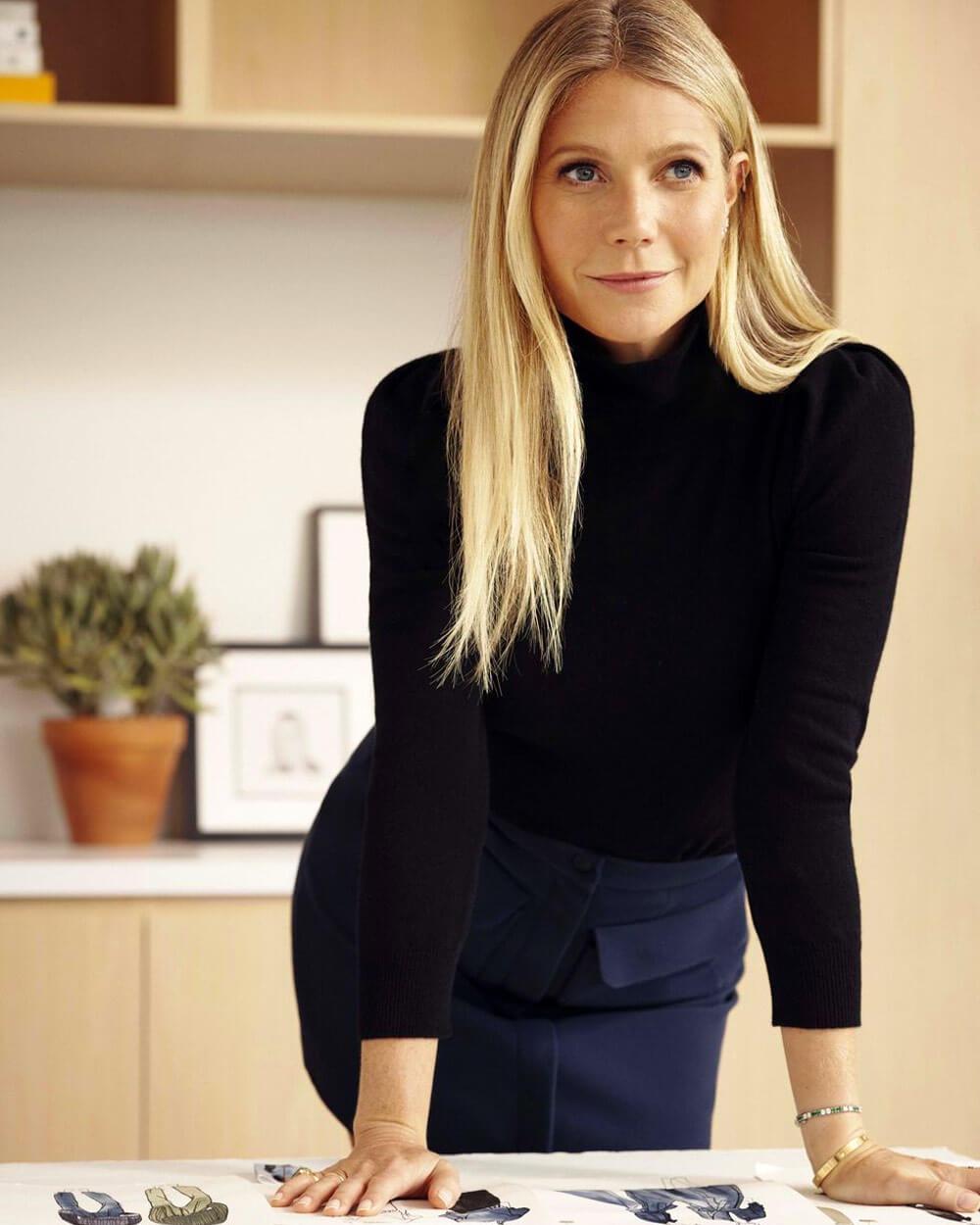 Gwyneth Paltrow Slow Fashion Celebrity