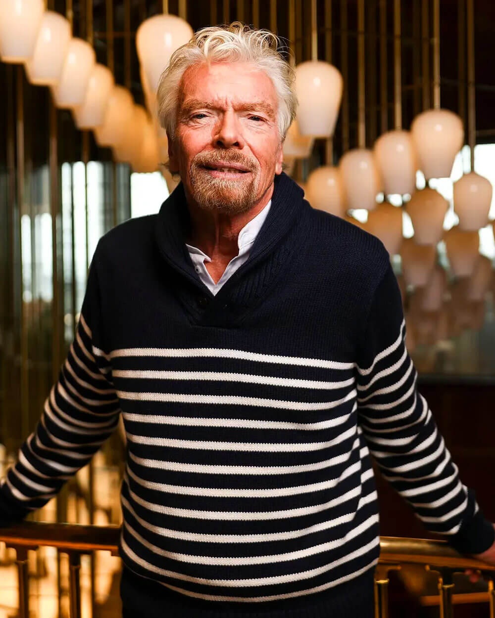 Sir Richard Branson Slow Fashion Celebrity