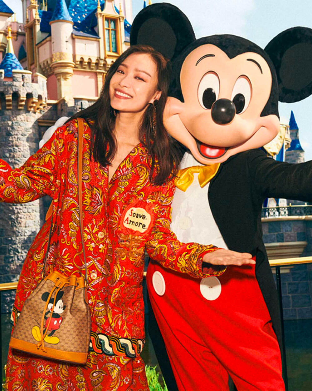 Gucci Mickey Mouse collection for Chinese New Year