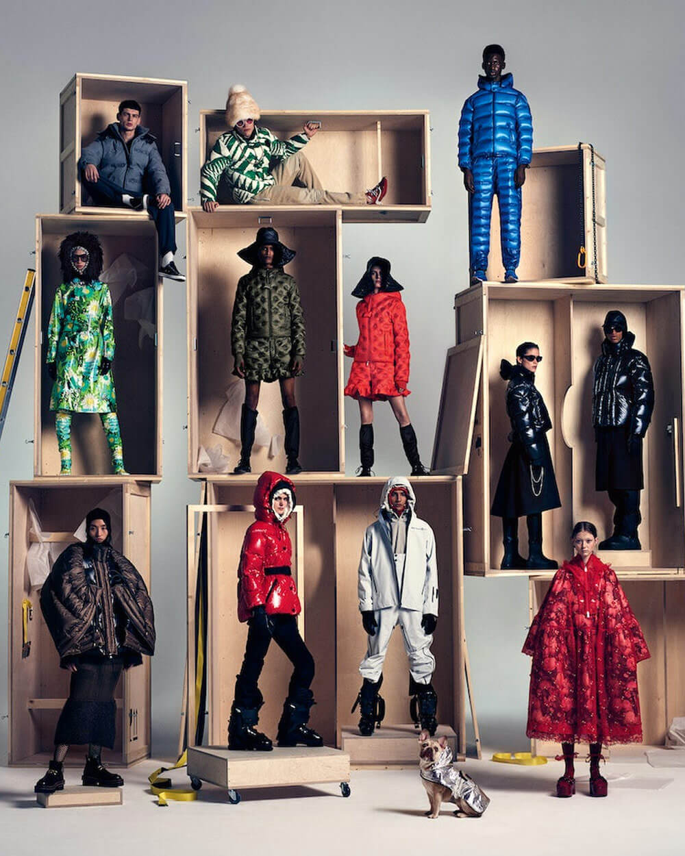 Moncler JW Anderson and Rimowa Genius project