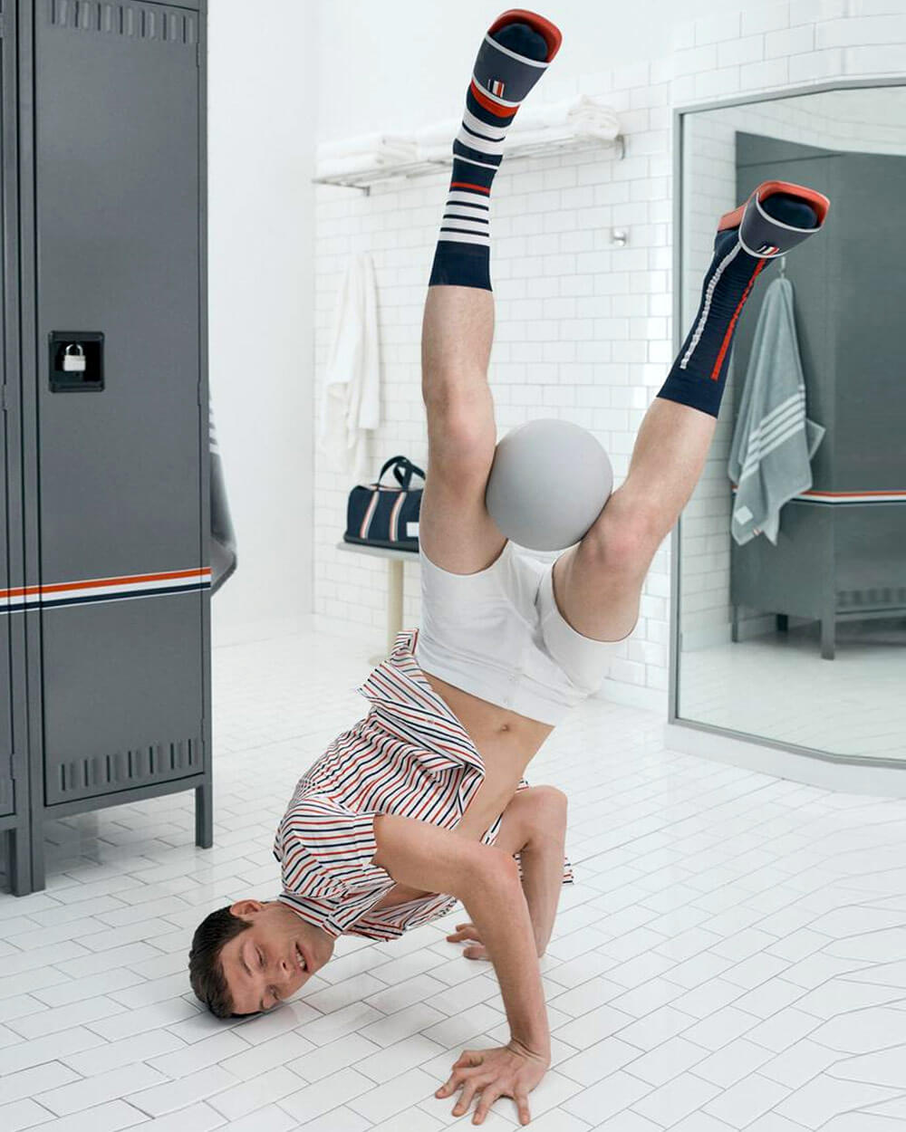 THOM BROWNE sports-inspired collection for Nordstrom's New Concepts