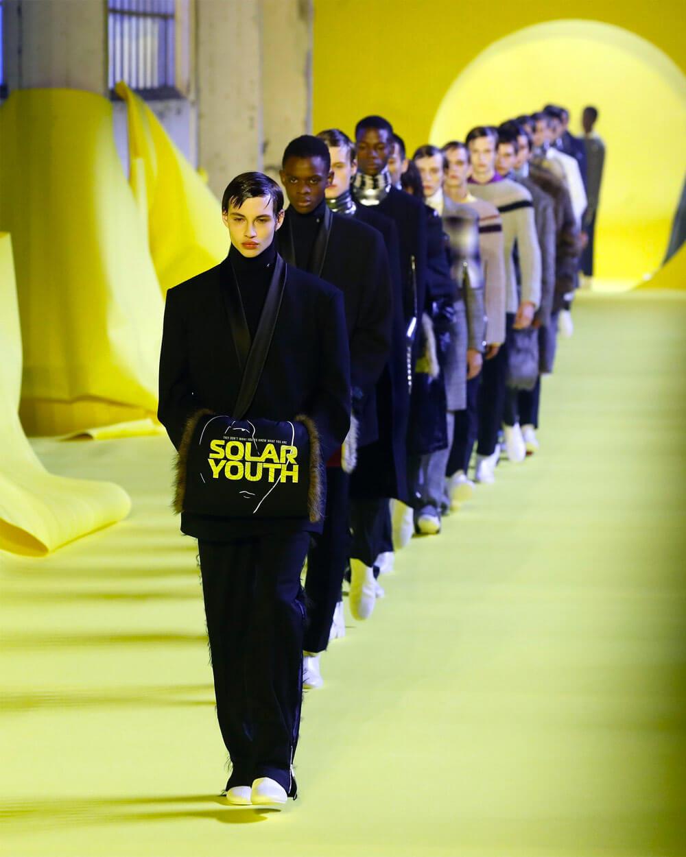 Prada 2020 collection by Raf Simons