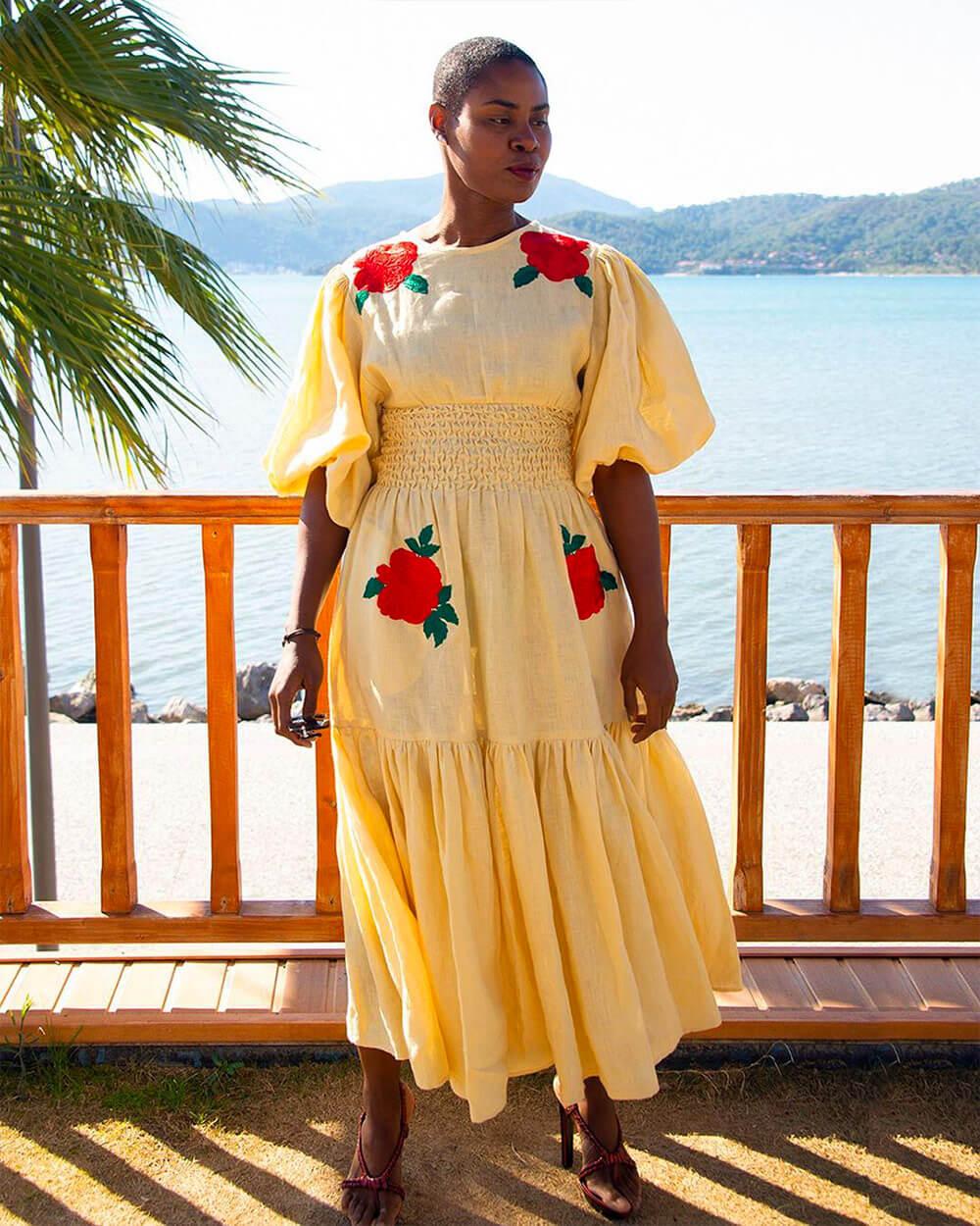 Fanm Mon luxurious boho dresses