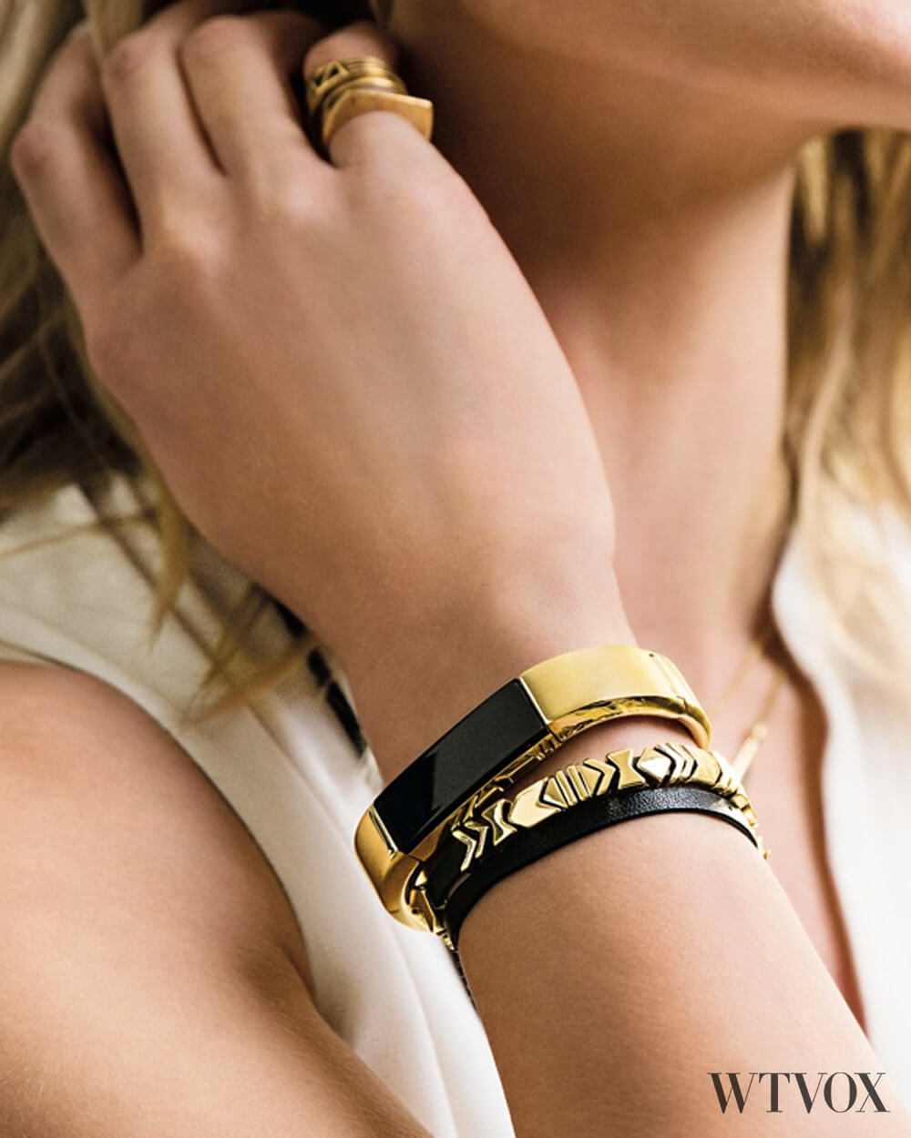 Fitbits Fitness Band By Tory Burch