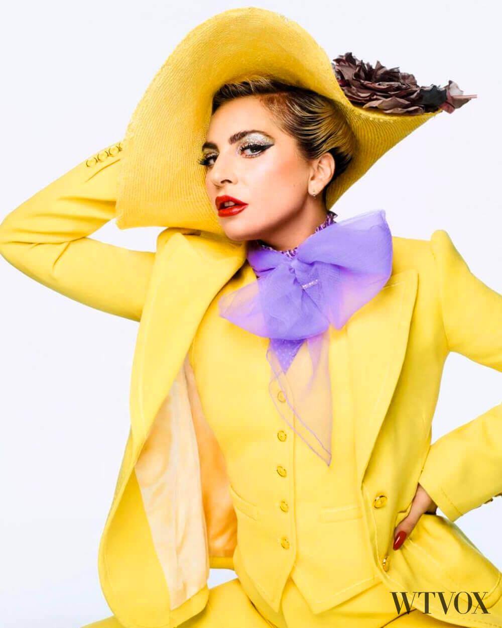 Lady Gaga androgynous look