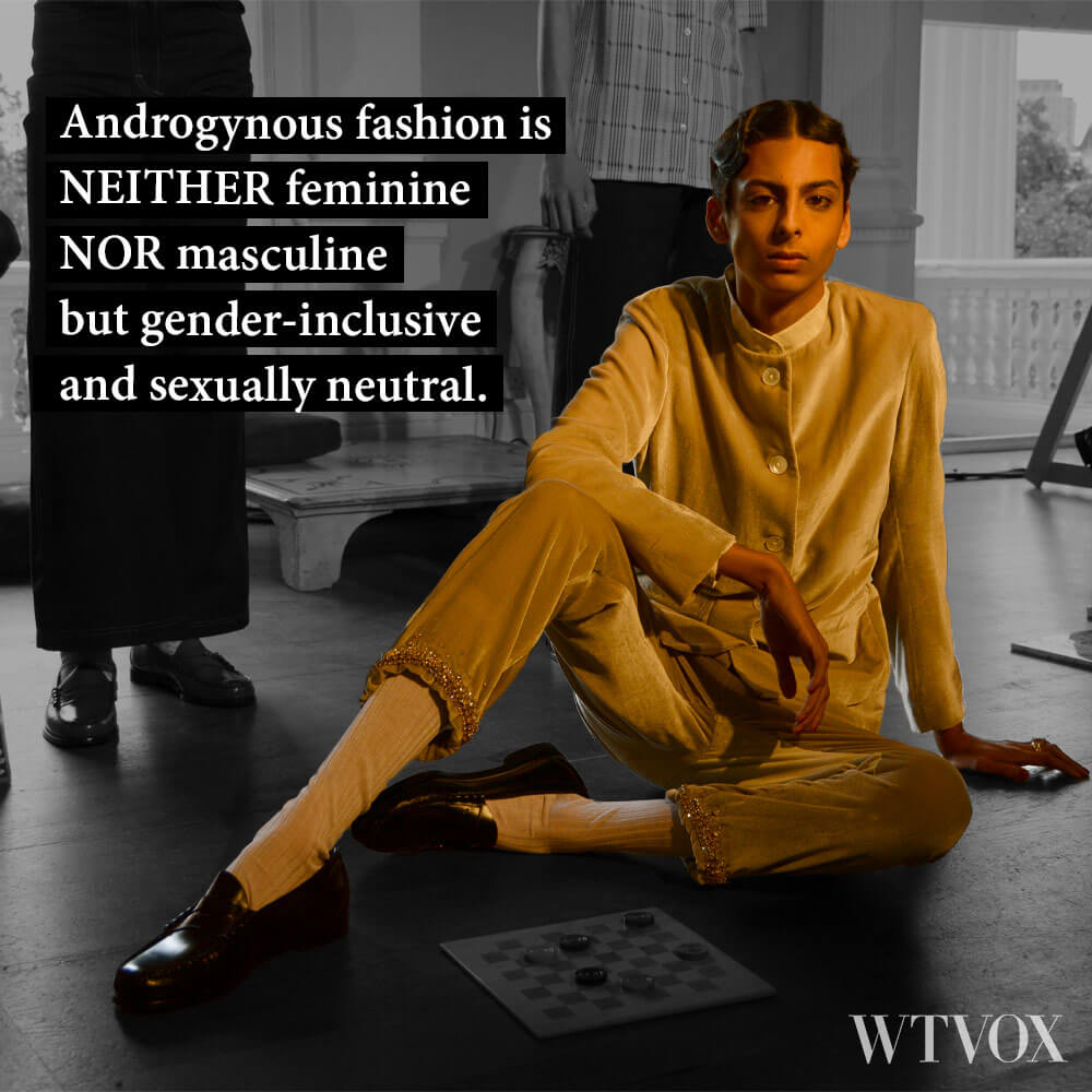 Androgynous Fashion Definition