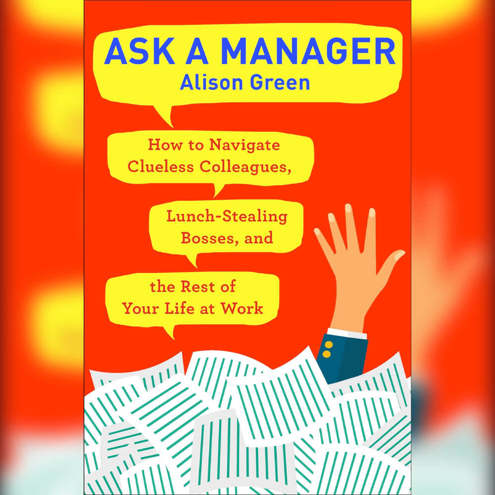 Self-help books 'ask a manager'