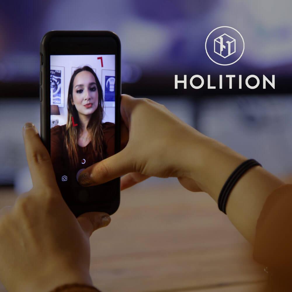 Holition fashion startup