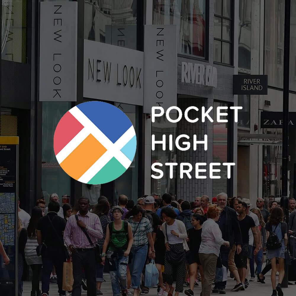 pocket high street fashion startup