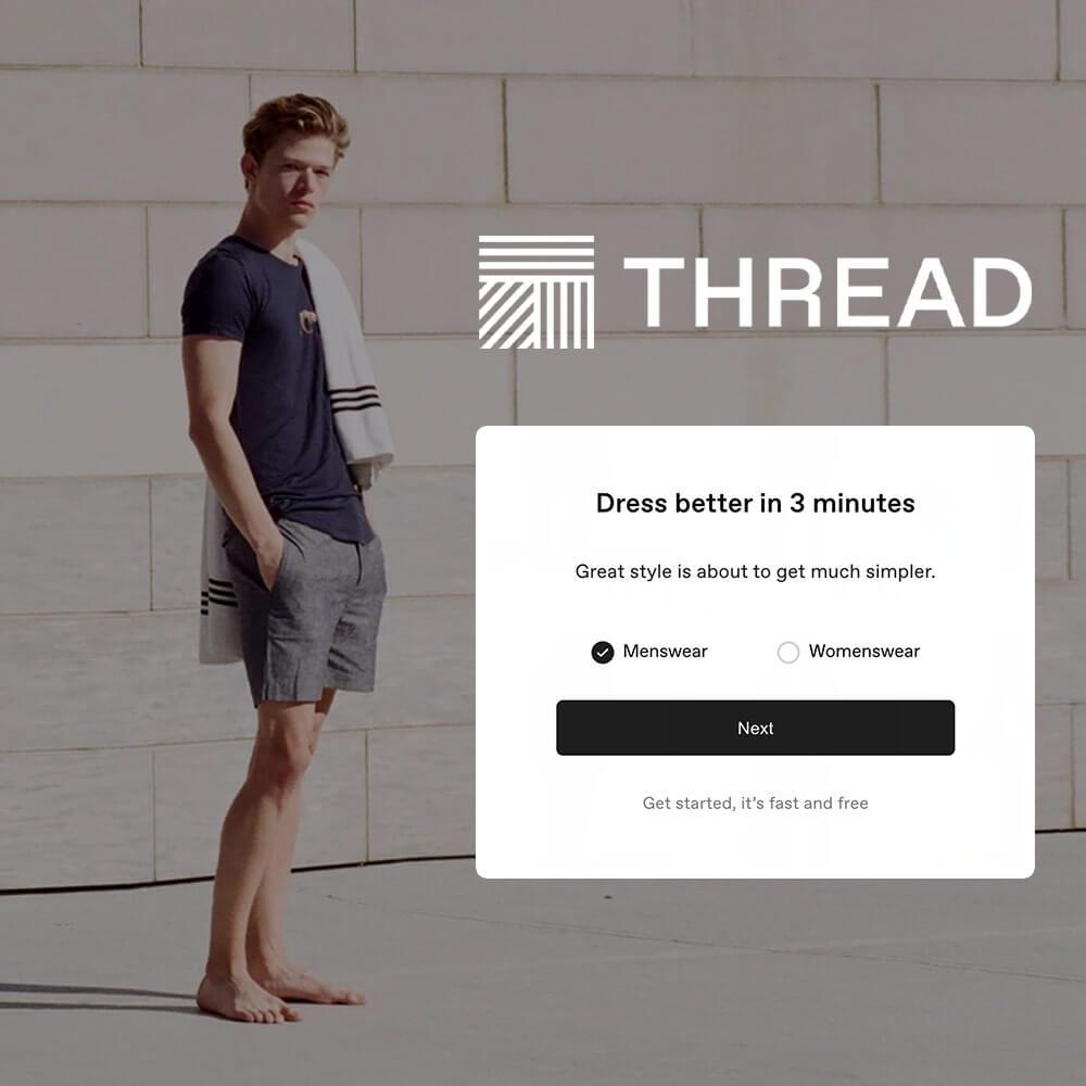 Thread London fashion startup