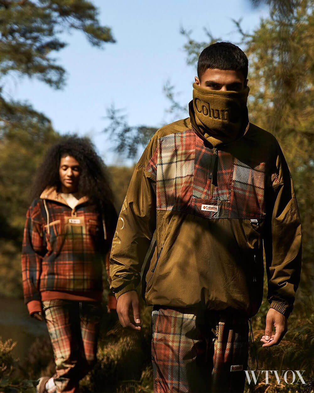 Columbia Outdoor clothing brand