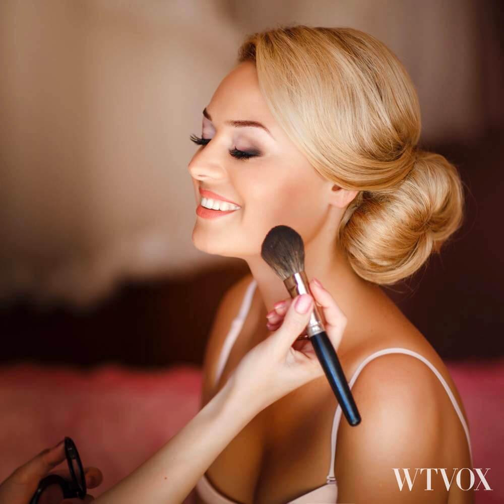 Wedding makeup on budget