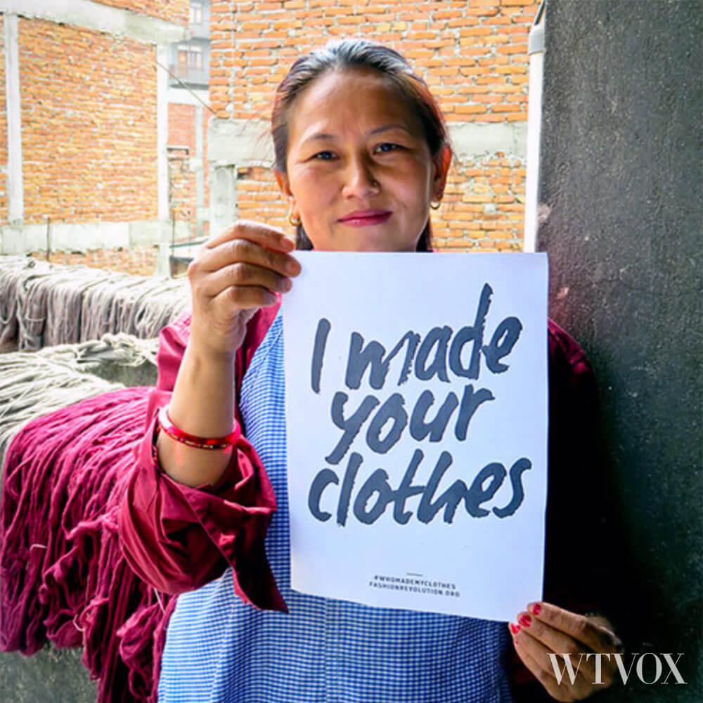 Ethical and fair trade fashion